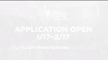 2017 TCS New York City Marathon TV Spot, 'Apply to Run' - Thumbnail 9
