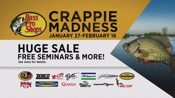 Bass Pro Shops Crappie Madness TV Spot, 'Spin Combo or Mighty Lite Rod' - Thumbnail 4