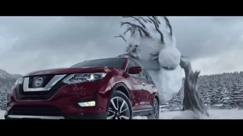 2017 Nissan Rogue TV Spot, \'Against the Snowmen\' [T1]