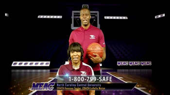 Mid-Eastern Athletic Conference TV Spot, 'Stop Domestic Abuse' - Thumbnail 7