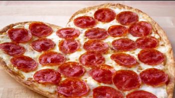 Papa John's Heart-Shaped Pizza TV Spot, 'Valentine's Day Surprises' - 3 commercial airings