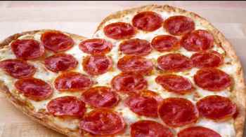 Papa John's Heart-Shaped Pizza TV Spot, 'Valentine's Day Surprises' - Thumbnail 6