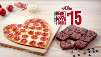 Papa John's Heart-Shaped Pizza TV Spot, 'Valentine's Day Surprises' - Thumbnail 9