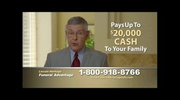 Lincoln Heritage Funeral Advantage TV Spot, 'Devastating' - Thumbnail 7