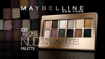 Maybelline New York 24k Nudes Palette TV Spot, 'Dare to Go Nude' - Thumbnail 2