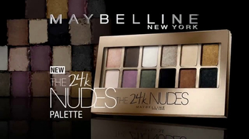 Maybelline New York 24k Nudes Palette TV Spot, 'Dare to Go Nude' - Thumbnail 7