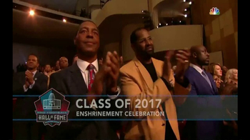 Pro Football Hall of Fame TV Spot, 'Class of 2017 Enshrinement' - Thumbnail 3
