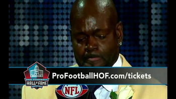 Pro Football Hall of Fame TV Spot, 'Class of 2017 Enshrinement' - Thumbnail 7