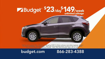 Budget Rent a Car TV Spot, 'Sporty SUV' Feat. Jessica Simpson - Thumbnail 4