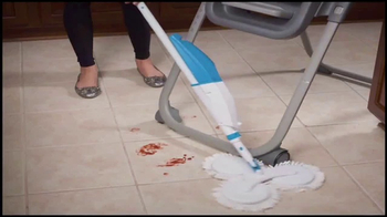 Hurricane Triple Spin Mop TV Spot, 'Fastest Cleanup Ever' - Thumbnail 2