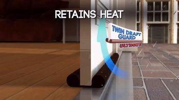 Twin Draft Guard TV Spot, 'Out the Door'