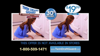 Twin Draft Guard TV Spot, 'Out the Door' - Thumbnail 10