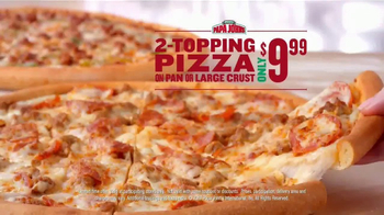 Papa John's TV Spot, 'Never Cut Corners' - Thumbnail 5