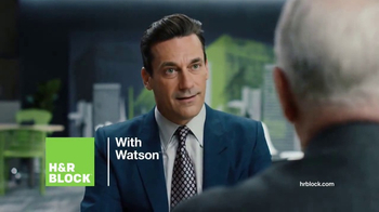 H&R Block With Watson TV Spot, 'More Money' Featuring Jon Hamm - Thumbnail 8