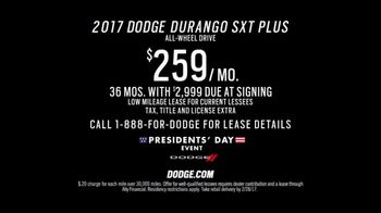 Dodge Presidents' Day Event TV Spot, 'Alaska' [T2] - Thumbnail 5