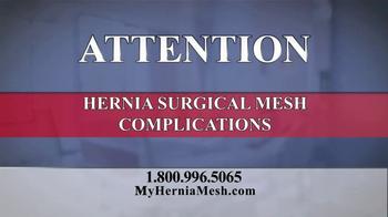 Baron & Budd, P.C. TV Spot, 'Hernia Surgical Mesh'