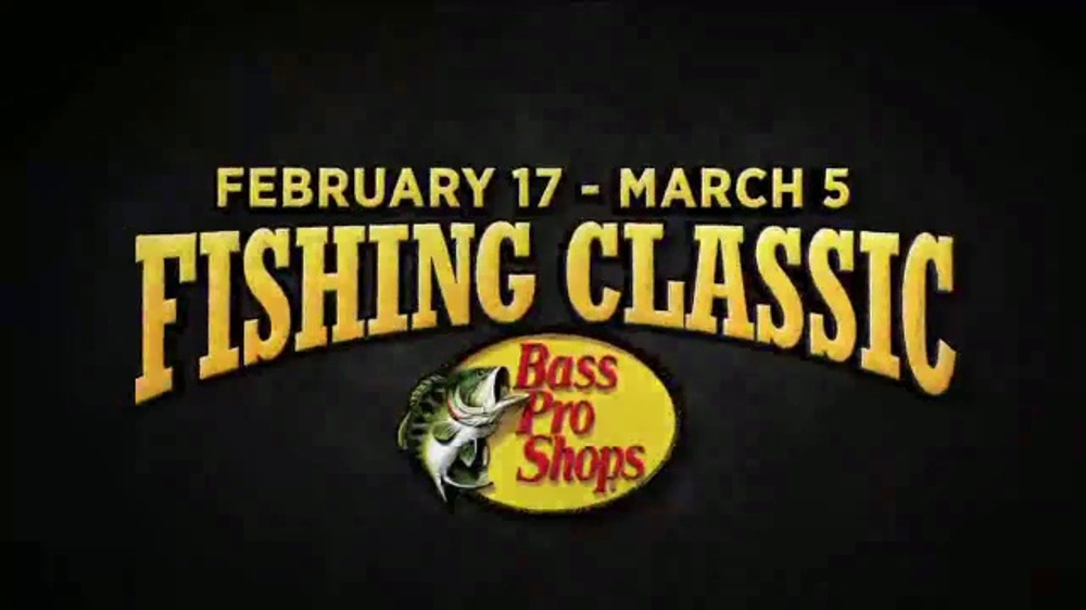 Bass Pro Shops Spring Fever Sale TV Commercial, 'Fleece & Spring Fishing  Classic' - Video