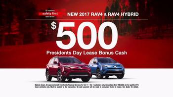 Toyota Safety First Sales Event TV Spot, '2017 RAV4: Bonus Cash' [T2] - Thumbnail 8