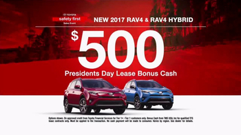 Toyota Safety First Sales Event TV Spot, '2017 RAV4: Bonus Cash' [T2] - Thumbnail 9