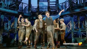Fathom Events TV Spot, \'Disney\'s Newsies: The Broadway Musical\'