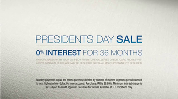La-Z-Boy Presidents Day Sale TV Spot, 'Pause' Featuring Brooke Shields - Thumbnail 7