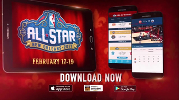 NBA App TV Spot, '2017 NBA All-Star in New Orleans' - 147 commercial airings