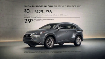 Lexus Special Presidents Day Offer TV Spot, 'Strikingly Designed' [T2] - Thumbnail 10