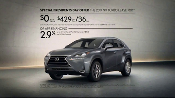 Lexus Special Presidents Day Offer TV Spot, 'Strikingly Designed' [T2] - Thumbnail 9