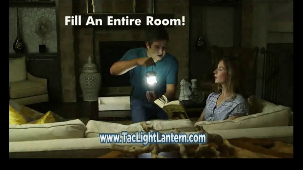 Bell + Howell TacLight Lantern TV Commercial, 'LEDs' Featuring Nick Bolton