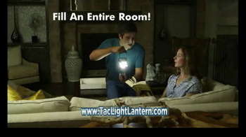Bell + Howell TacLight Lantern TV Spot, 'LEDs' Featuring Nick Bolton - 471 commercial airings