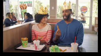 Burger King Jalapeño Chicken Fries TV Spot, 'Hot Relationship' - 2626 commercial airings