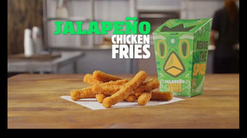 Burger King Jalapeño Chicken Fries TV Spot, 'Hot Relationship' - Thumbnail 4