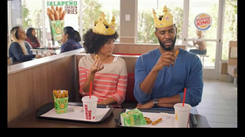 Burger King Jalapeño Chicken Fries TV Spot, 'Hot Relationship' - Thumbnail 3