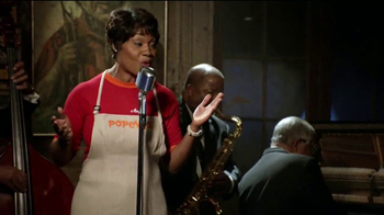 Popeyes Chicken Waffle Tenders TV Spot, 'Cabaret Night'