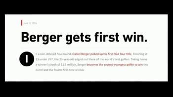 Callaway Chrome Soft TV Spot, 'Change to Get Better' Feat. Daniel Berger - Thumbnail 3