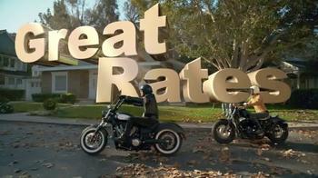 GEICO Motorcycle TV Spot, 'Neighborhood: Modern Text' - Thumbnail 5