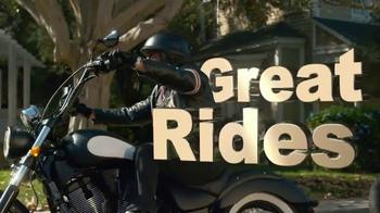GEICO Motorcycle TV Spot, 'Neighborhood: Modern Text' - Thumbnail 6