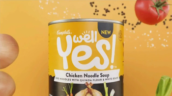 Campbell's Well Yes! Chicken Noodle Soup TV Spot, 'Beautiful Thing' - Thumbnail 5