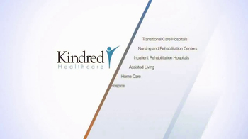 Kindred Healthcare TV Spot, 'Wide Range of Services' - Thumbnail 4