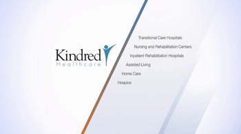 Kindred Healthcare TV Spot, 'Wide Range of Services' - Thumbnail 6