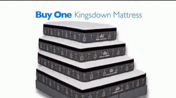 Rooms to Go Presidents' Day Mattress Sale TV Spot, 'Buy One Get One'