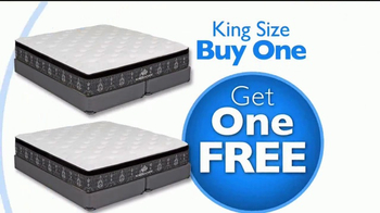 Rooms to Go Presidents' Day Mattress Sale TV Spot, 'Buy One Get One' - Thumbnail 4