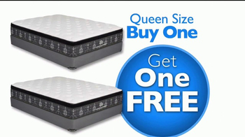 Rooms to Go Presidents' Day Mattress Sale TV Spot, 'Buy One Get One' - Thumbnail 5