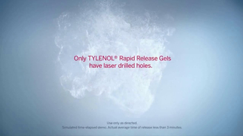 Tylenol Rapid Release Gels TV Spot, 'Fast Pain Relief' - Thumbnail 5