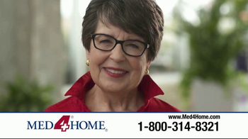 Med4Home TV Spot, 'We're Here to Help' - Thumbnail 7