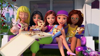 LEGO Friends TV Spot, 'Pizza Night'