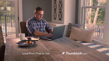 Thumbtack TV Spot, 'Dan Gets Stuff Done'