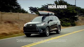 2017 Toyota Highlander TV Spot, 'Time for Life' [T2] - Thumbnail 7