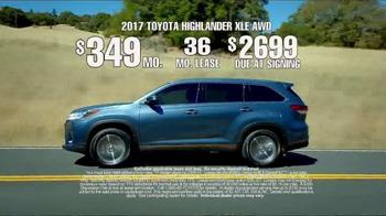 2017 Toyota Highlander TV Spot, 'Time for Life' [T2] - Thumbnail 9