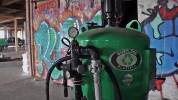Dustless Blasting TV Spot, 'Graffiti Elimination' - Thumbnail 2